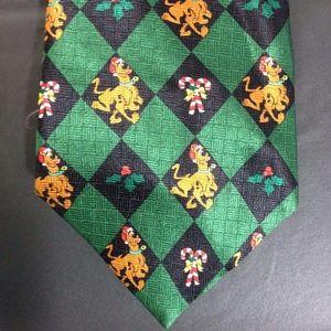 Retro 2001 Scooby Doo 100% Silk Holiday Neck Tie
